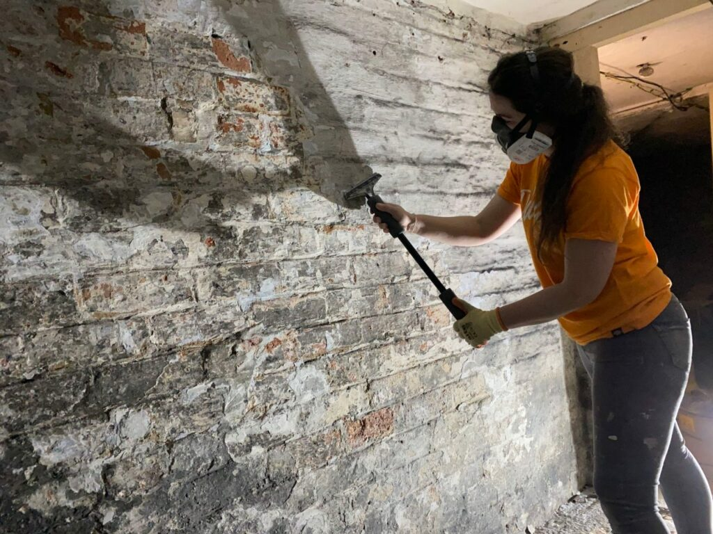 Le nettoyage de cave
