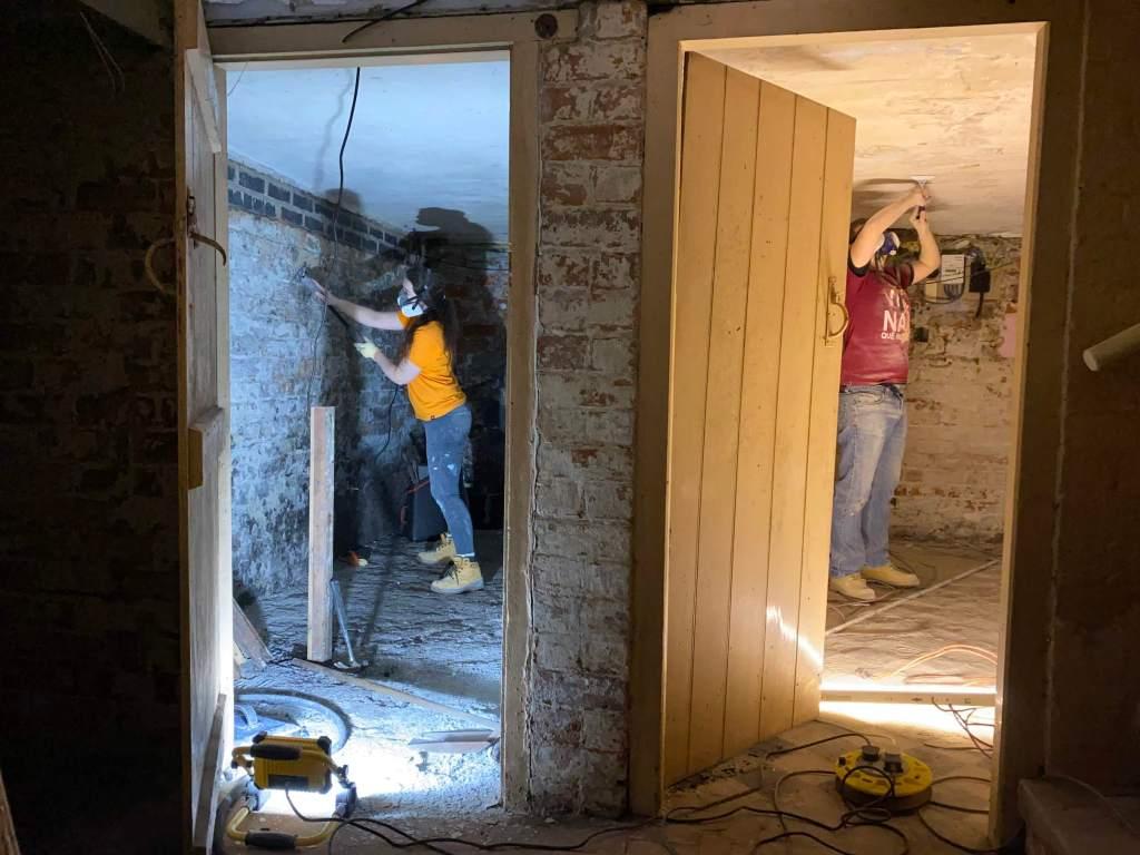 rénovation de cave paris